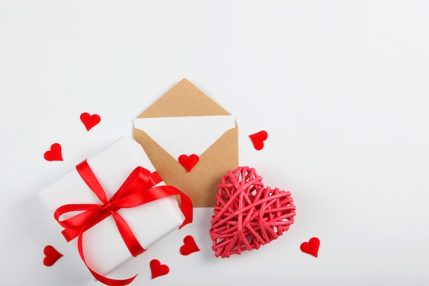 Valentijnsdag achtergrond met plaats om tekst in te voegen