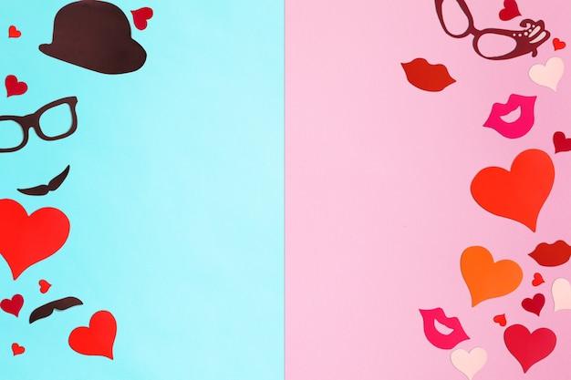 Valentijnsdag concept achtergrond