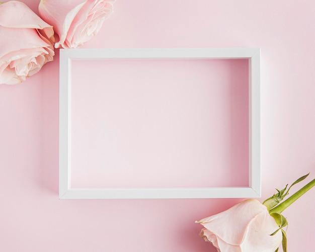 Valentijnsdag concept met frame