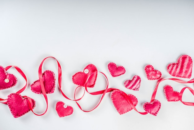 Valentijnsdag flatlay