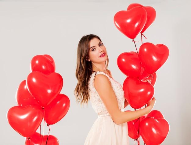 Valentijnsdag meisje