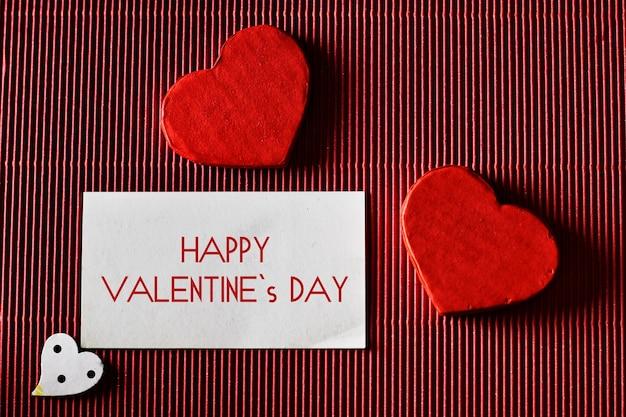 Valentijnsdag papieren hartvorm