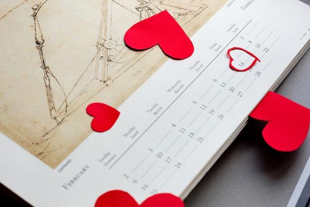 Valentijnsdag, romantische foto