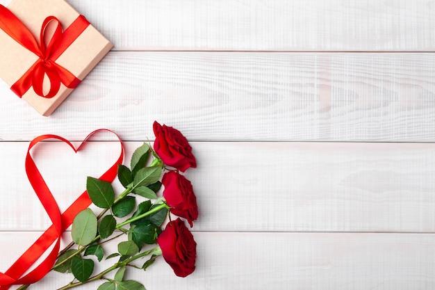 Valentijnsdag romantische tafel instelling