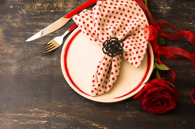 Valentijnsdag scène
