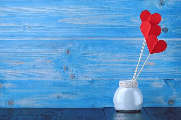 Valentijnsdag vakantie achtergrond