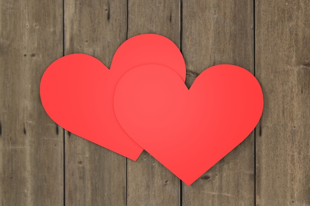 Valentijnsdag wallpaper ontwerp. 3d-weergave.