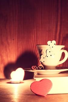 Valentijnsdagboek beker
