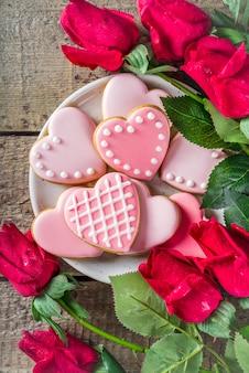 Valentine-daggroetachtergrond