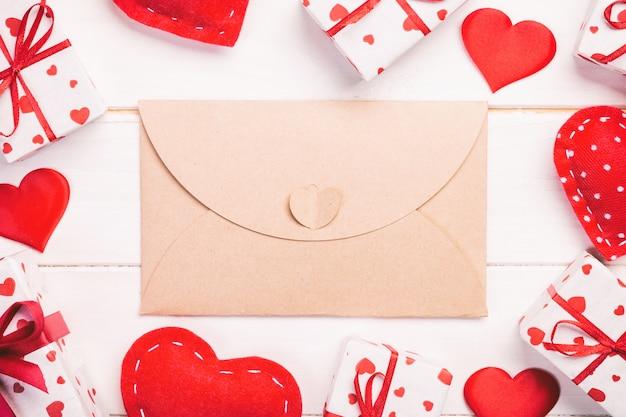 Valentine, geschenkdoos in vakantie wrapper