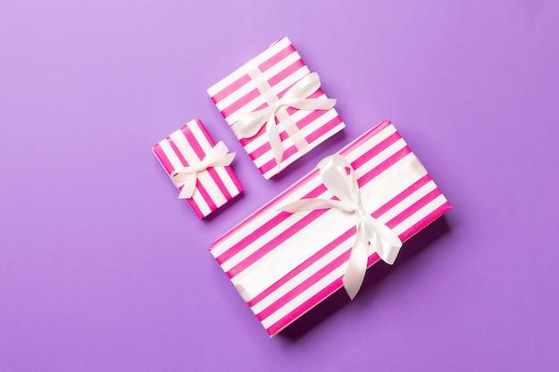Valentine-gift in de hoogste mening van de vakantiedecoratie, copyspace