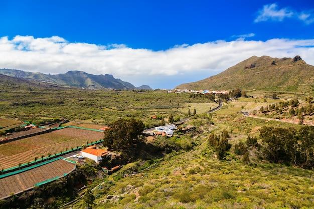 Valle de arriba bij santiago del teide