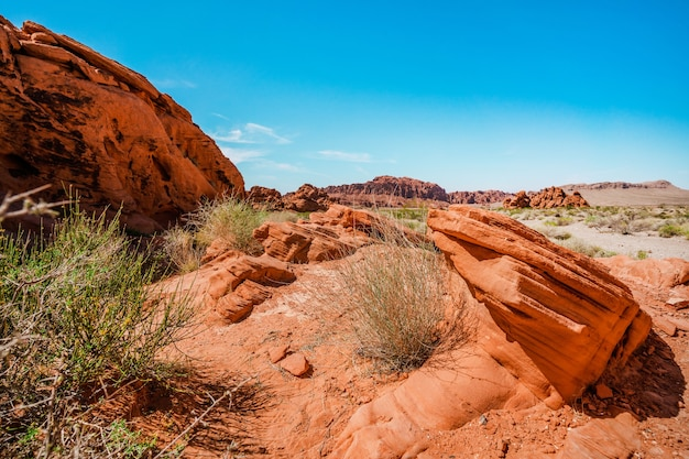 Valley of fire nationaal park in nevada