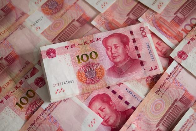 Valuta chinese yuan (cny of rmb) voor internationale financiële zaken en beurs
