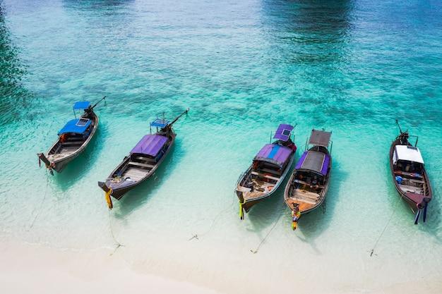 Van de het seizoen thaise en buitenlandse reishist van de avonturenstijl hallo van de de reisreis van toeristen en het drijven ziet koraal