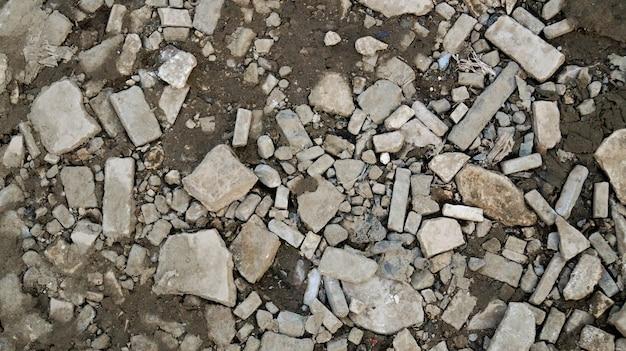 Van de steentextuur natuurlijk abstract donker zwart-wit close-up als achtergrond