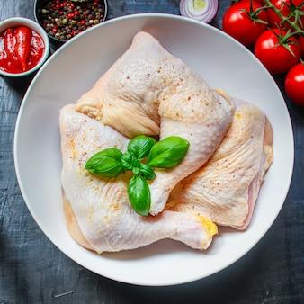 Van het het beenvlees van kippenbenen het dieetvoer