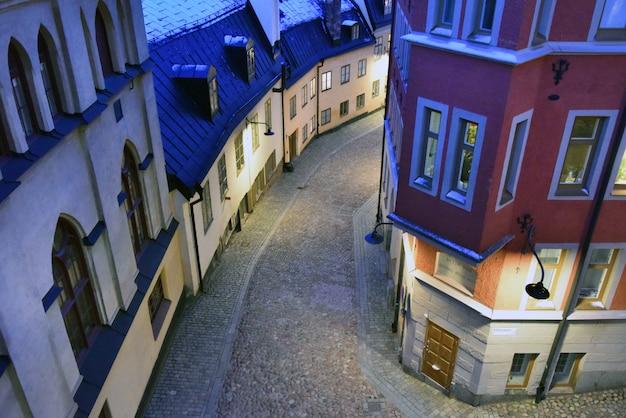 Van mariaberget in stockholm, zweden