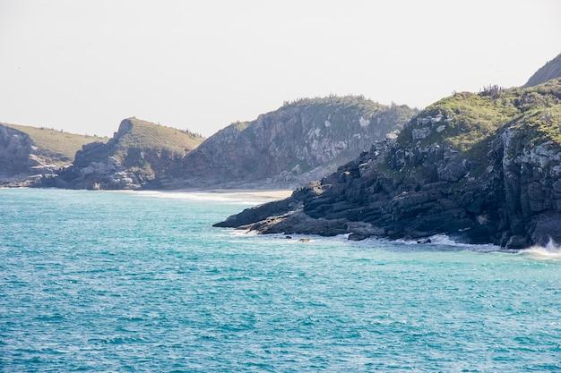 Van stranden van koude cape in rio de janeiro
