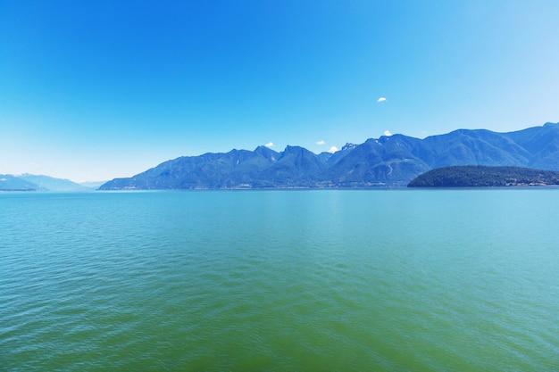 Vancouver island. canada. mooie zonnige dag in het zomerseizoen.