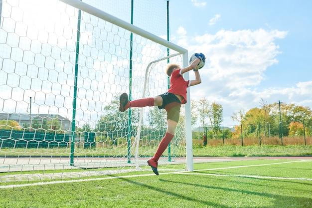 Vangbal voor doelman