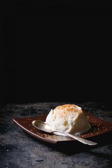 Vanille-ijs