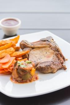 Varkensgehakt steak