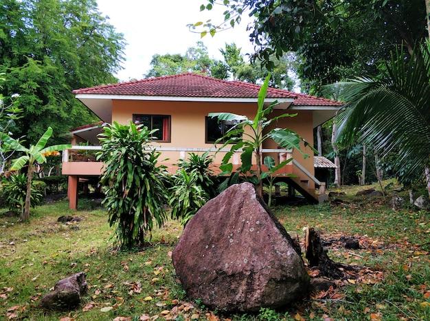 Vastgoed op het eiland koh samui in thailand.