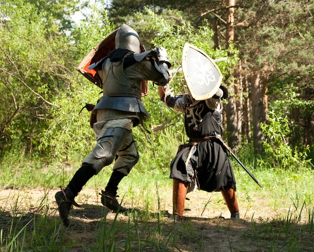 Vechtende ridders