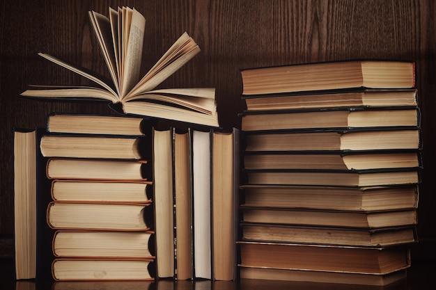 Veel oude boeken