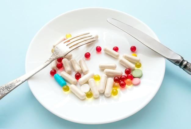 Veel verschillende pillen voor gewichtsverlies