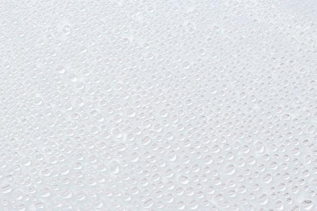 Veel waterdruppels