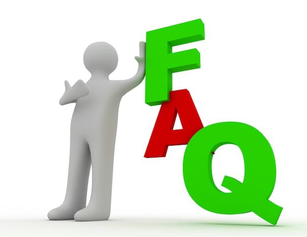 Veelgestelde vragen concept