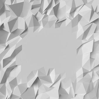 Veelhoekige geometrische driehoek achtergrond