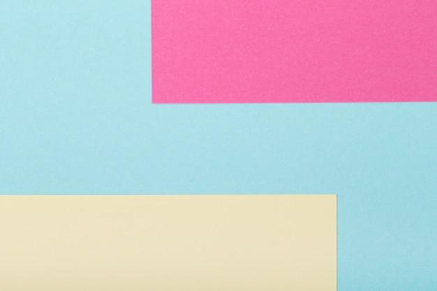 Veelkleurig van een karton met verschillende kleuren