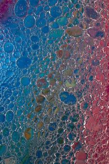 Veelkleurige abstracte achtergrond met bellen.