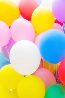 Veelkleurige ballonnen