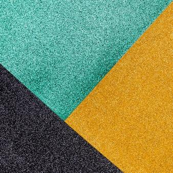 Veelkleurige glinsterende glitter