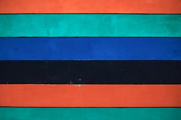 Veelkleurige horizontale planken als achtergrond