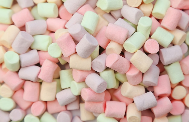 Veelkleurige marshmallows