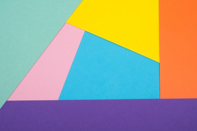 Veelkleurige papieren achtergrond