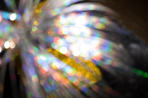 Veelkleurige regenboog groot bokeh-effect