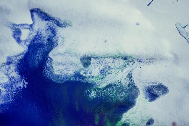 Veelkleurige verfvlekken, druppels, spatten, mengen. abstracte achtergrond
