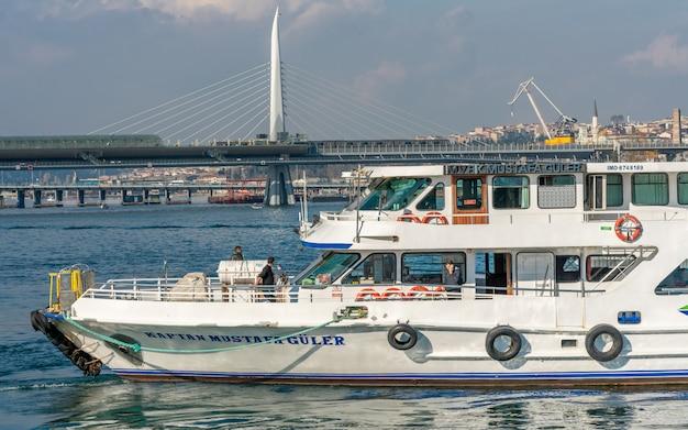 Veerboot in de haven