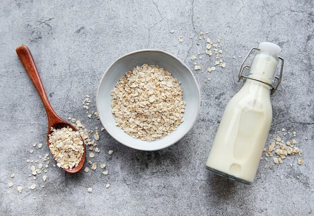 Veganistische niet-zuivel alternatieve melk
