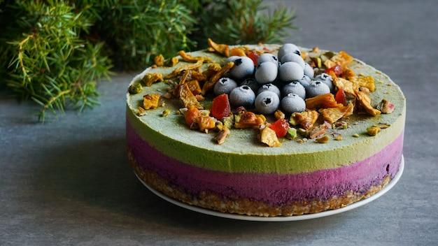 Veganistische rauwe cake