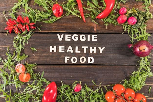 Veggie eten