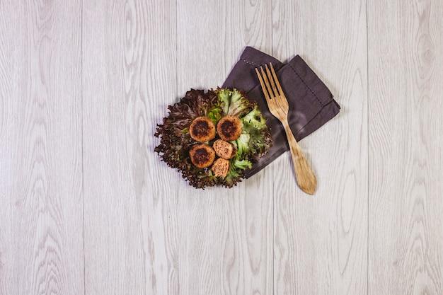 Veggie foodie gezondheidsalud levensstijl