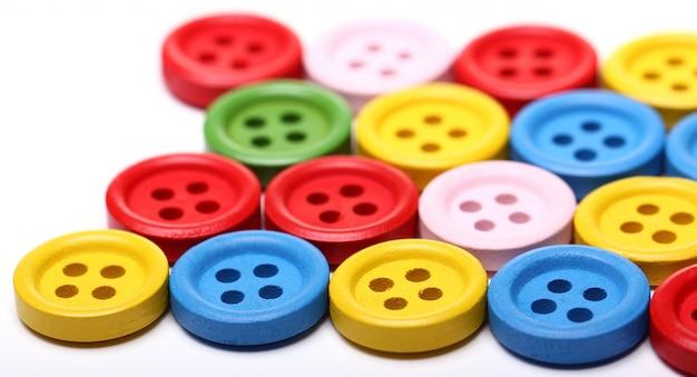 Vele kleurrijke knoppen