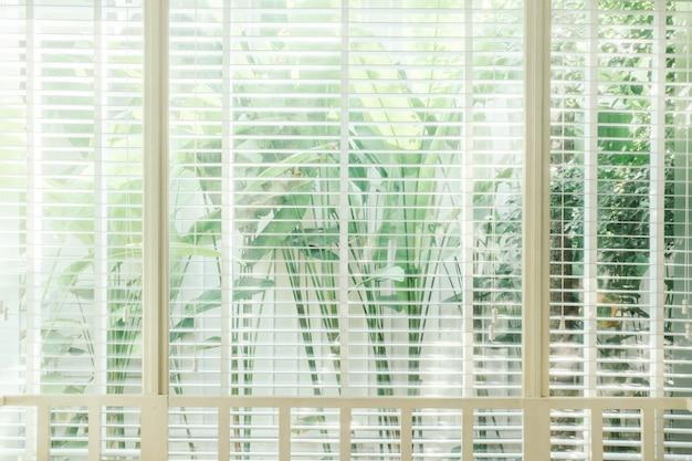 Venetiaanse zonlicht interieur wit bruin